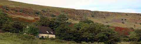 Brecon Beacons self view of accommodation